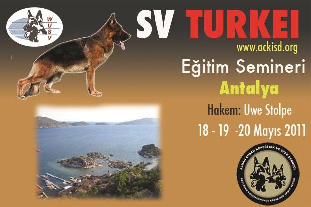 Antalya Eğitim Semineri - Alman Kurdu